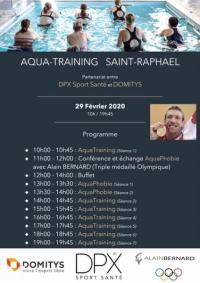 Lancement AQUABIKE/ AQUATRAINING DPX Sport Sante à Saint-Raphaël