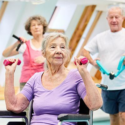 Cours de sport pour seniors
